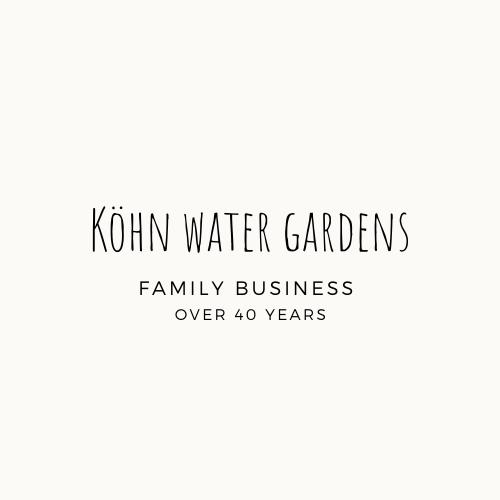 Köhn water gardens - logo temp. - blck txt